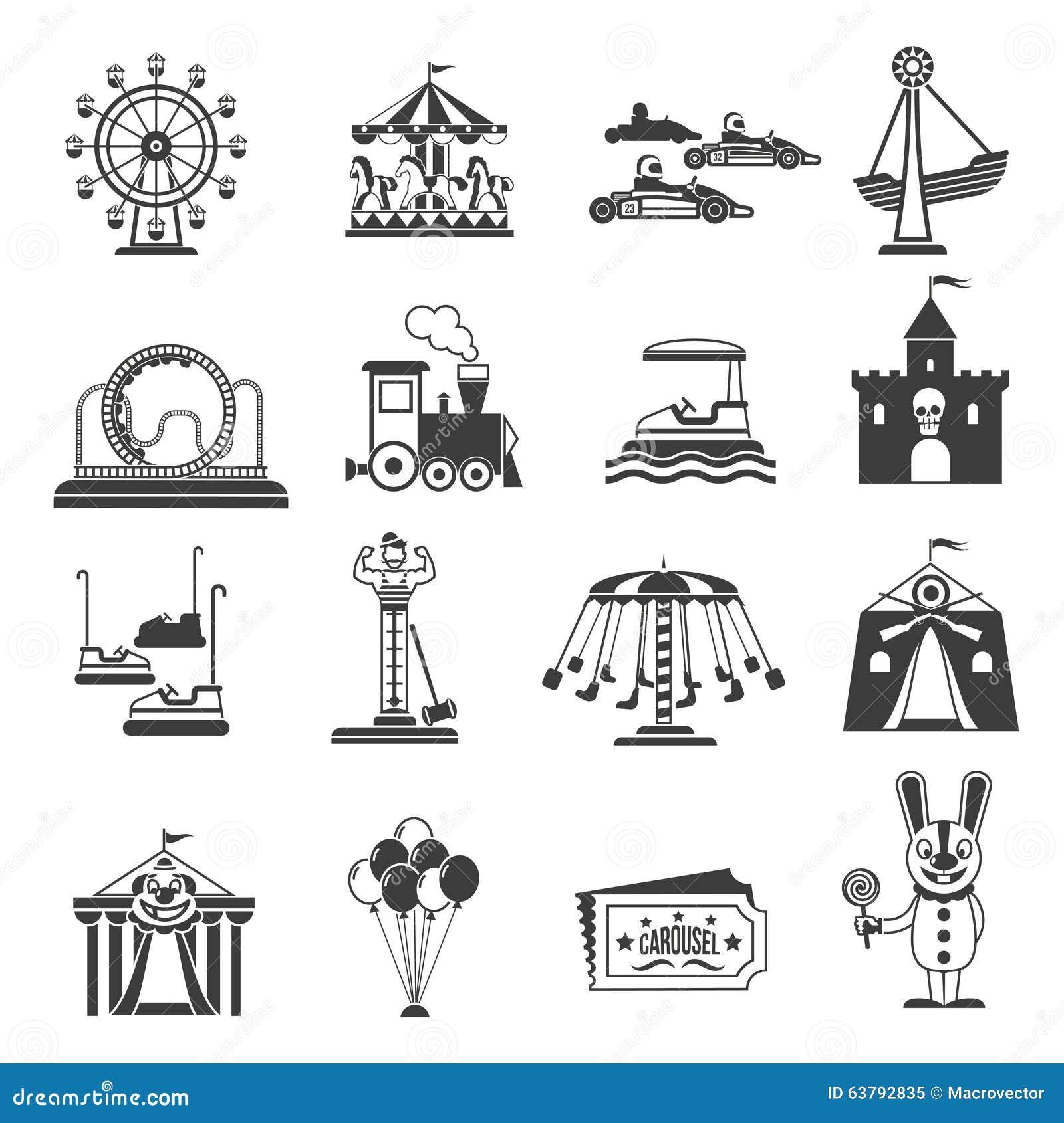 Theme park symbols