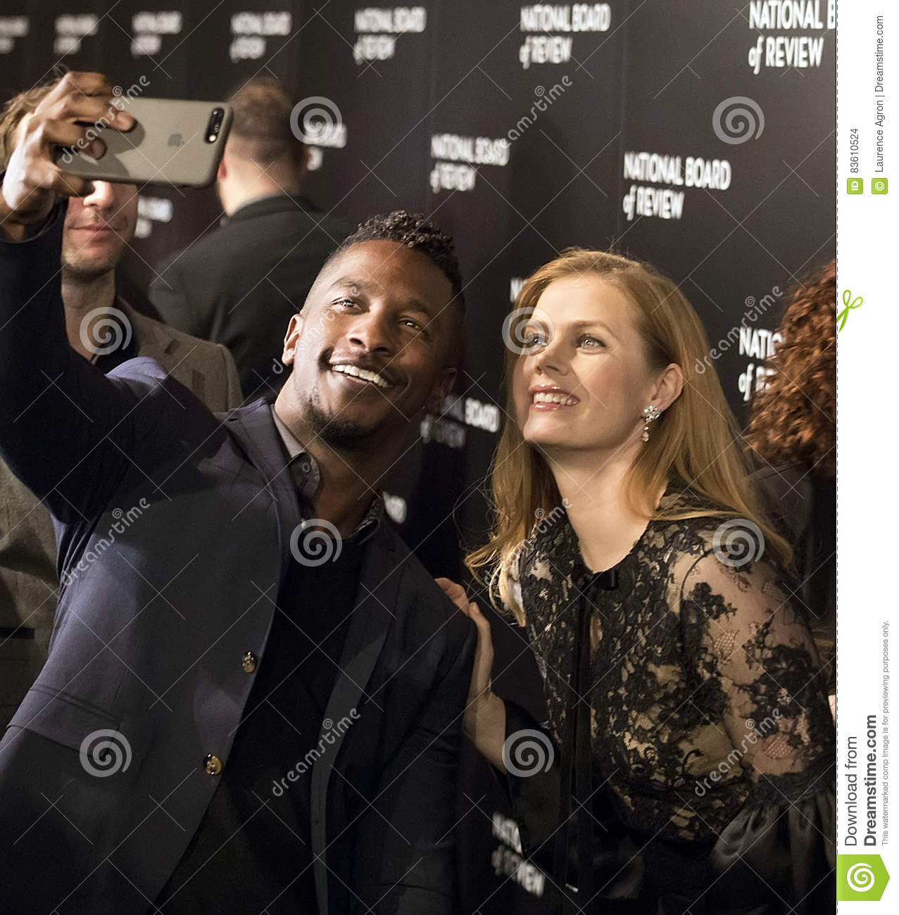 Amy Adams Scores At NBR Film Awards Editorial Stock Image