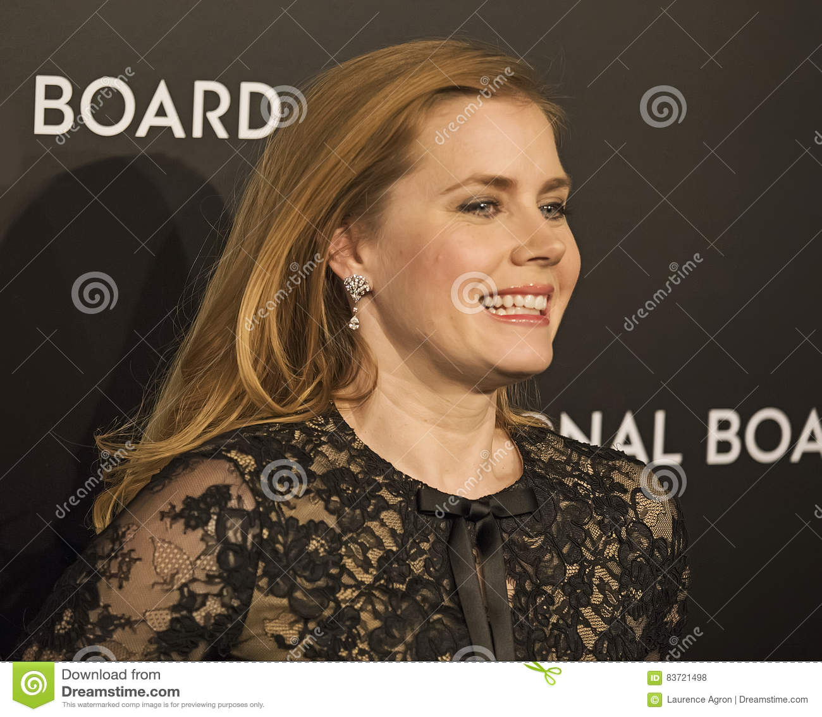 Amy Adams Scores At NBR Film Awards Editorial Stock Photo