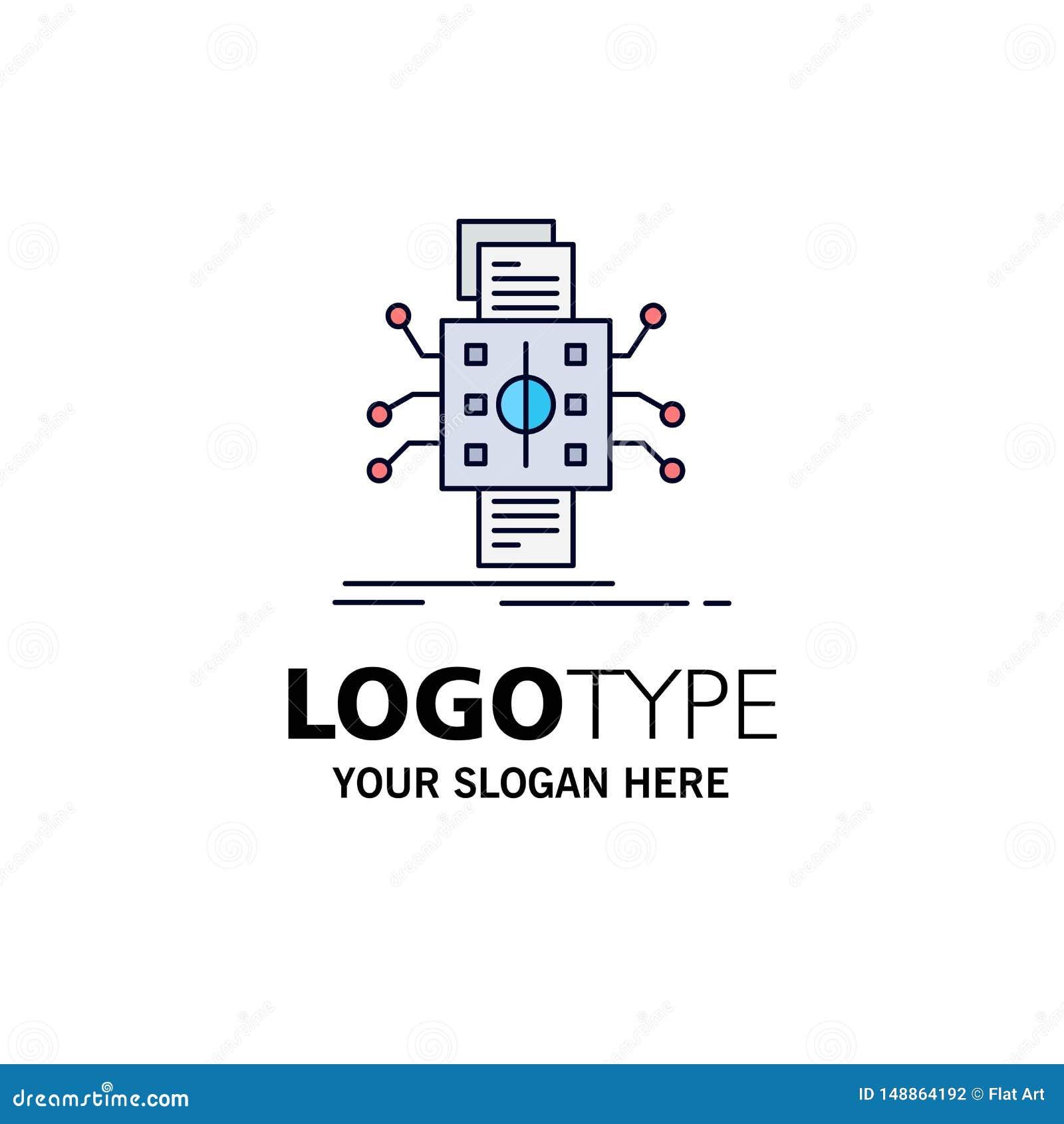 Análisis, datos, dato, proceso, divulgando vector plano del icono del color