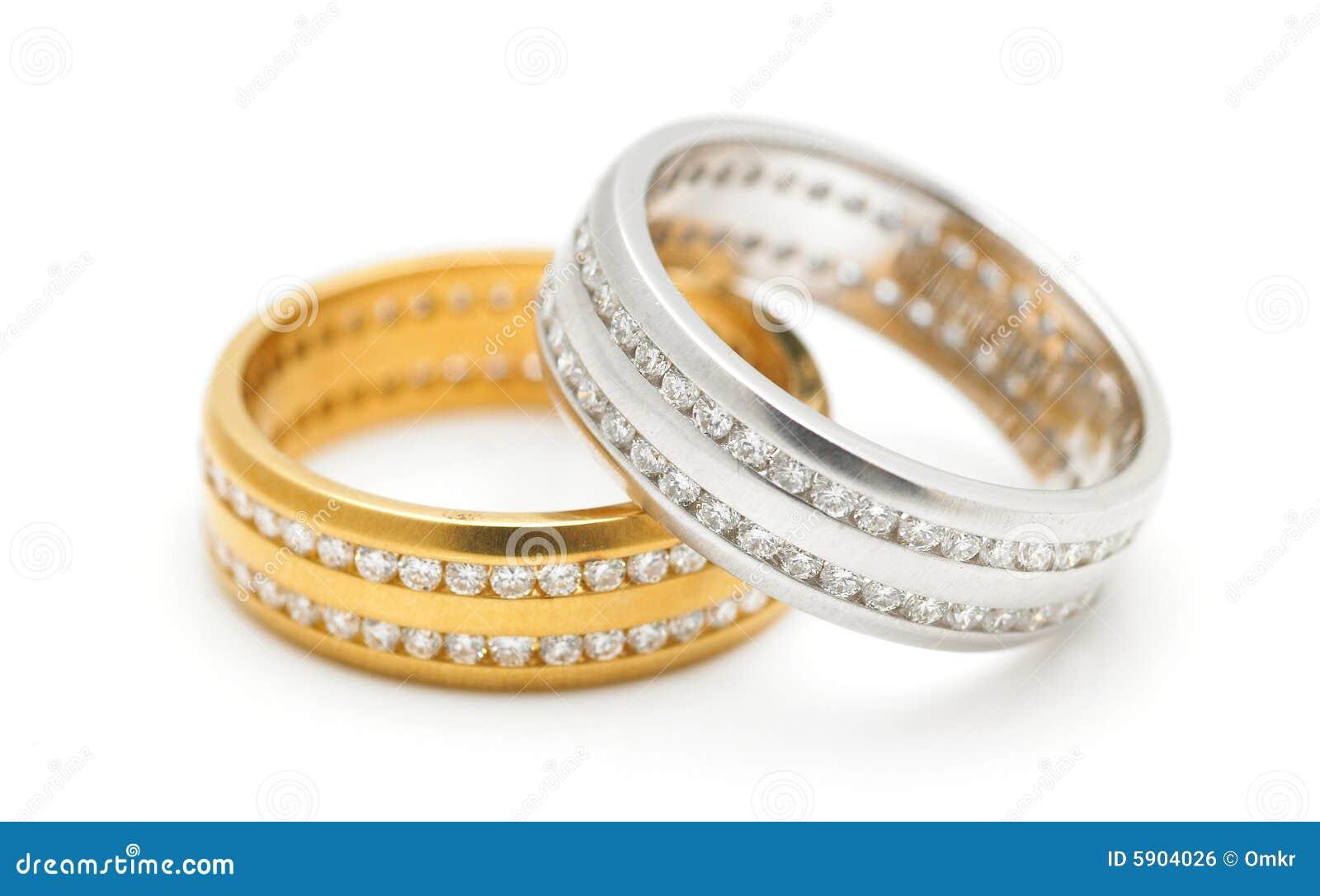 Anéis de diamante