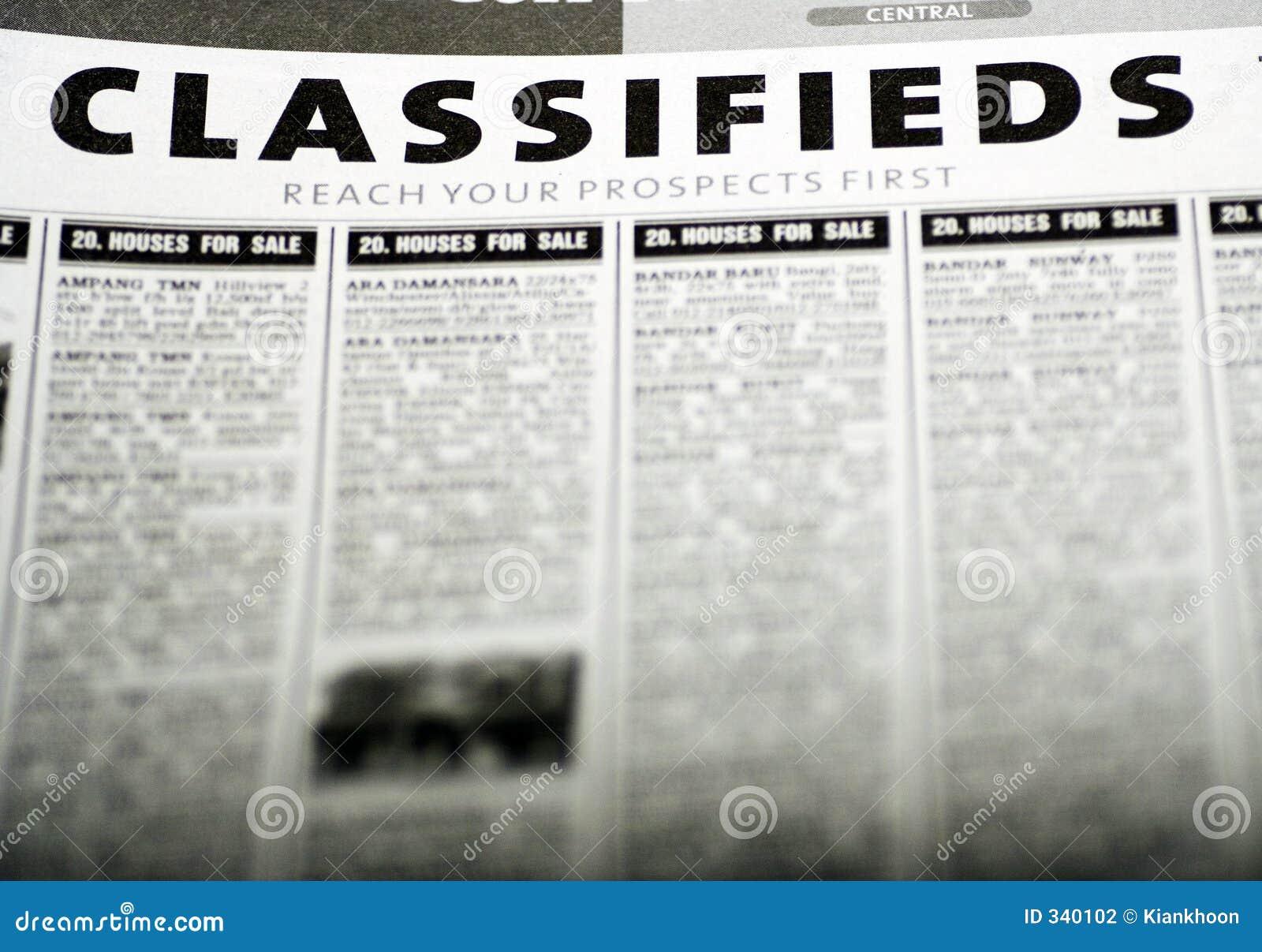 Anúncios classific