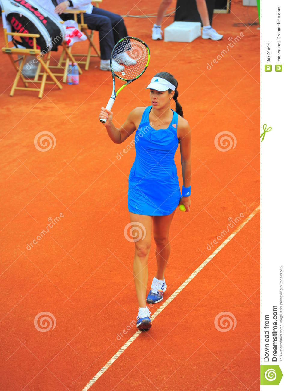 Ana Ivanovic Tennis Player Editorial Stock Image - Image ...