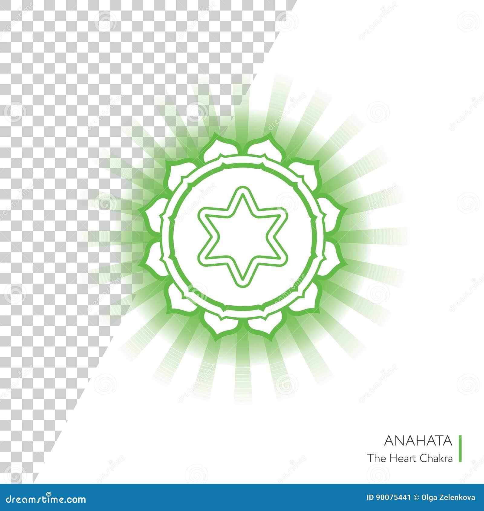 Anahata - El Cuarto Chakra Primario Stock de ilustración ...