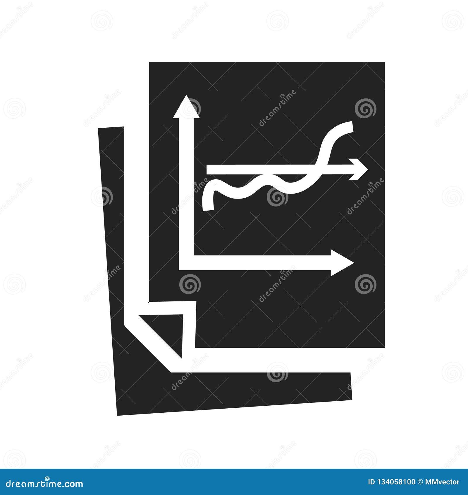Analityki ikony wektoru znak i symbol odizolowywający na białym tle, analityka loga pojęcie