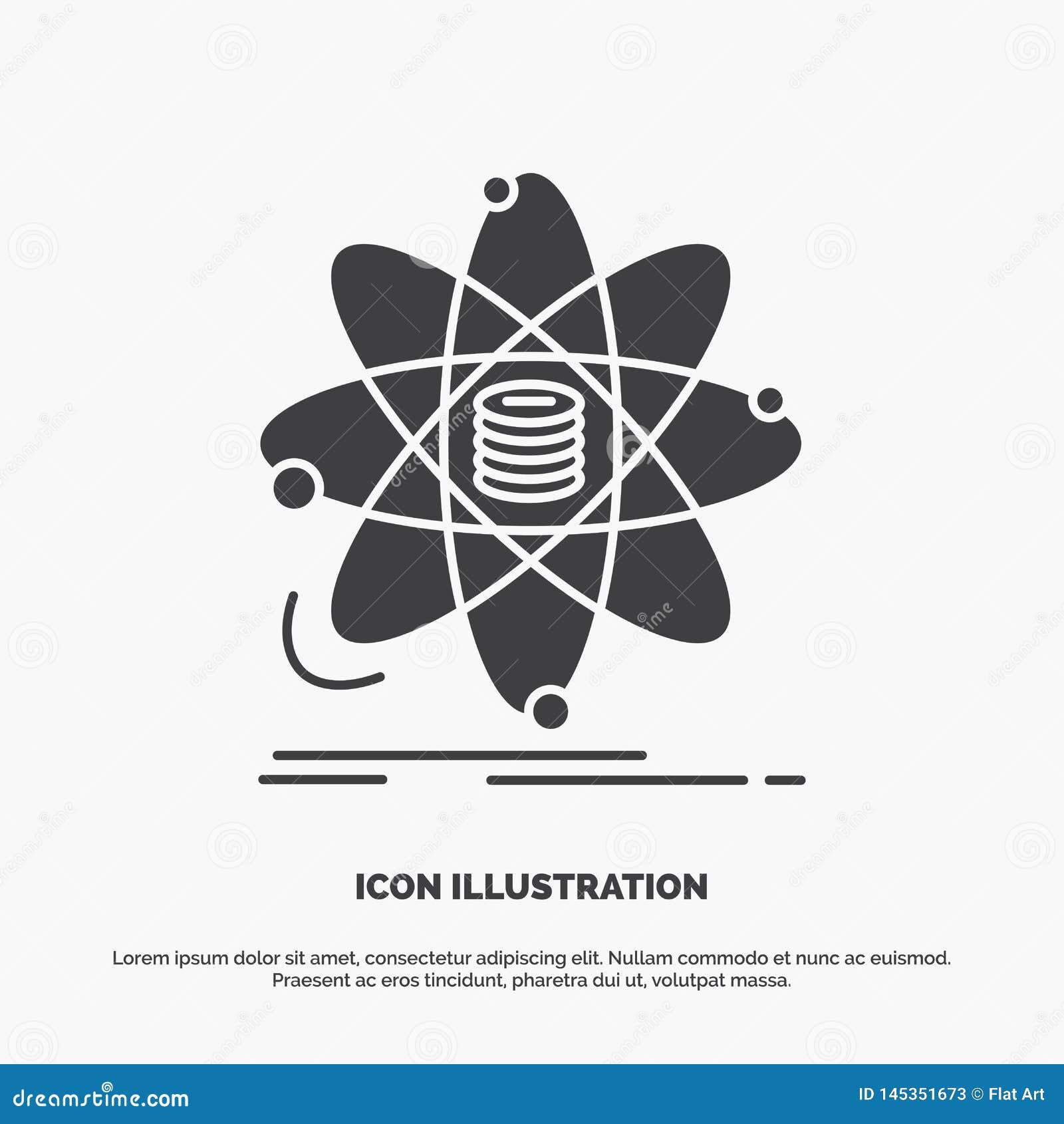 Analiza, dane, informacja, badanie, nauki ikona glifu wektorowy szary symbol dla UI, UX, strona internetowa i wisz?cej ozdoby zas