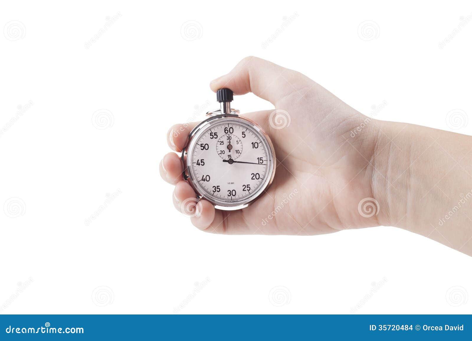 Analog Stopwatch Stock Images Image 35720484