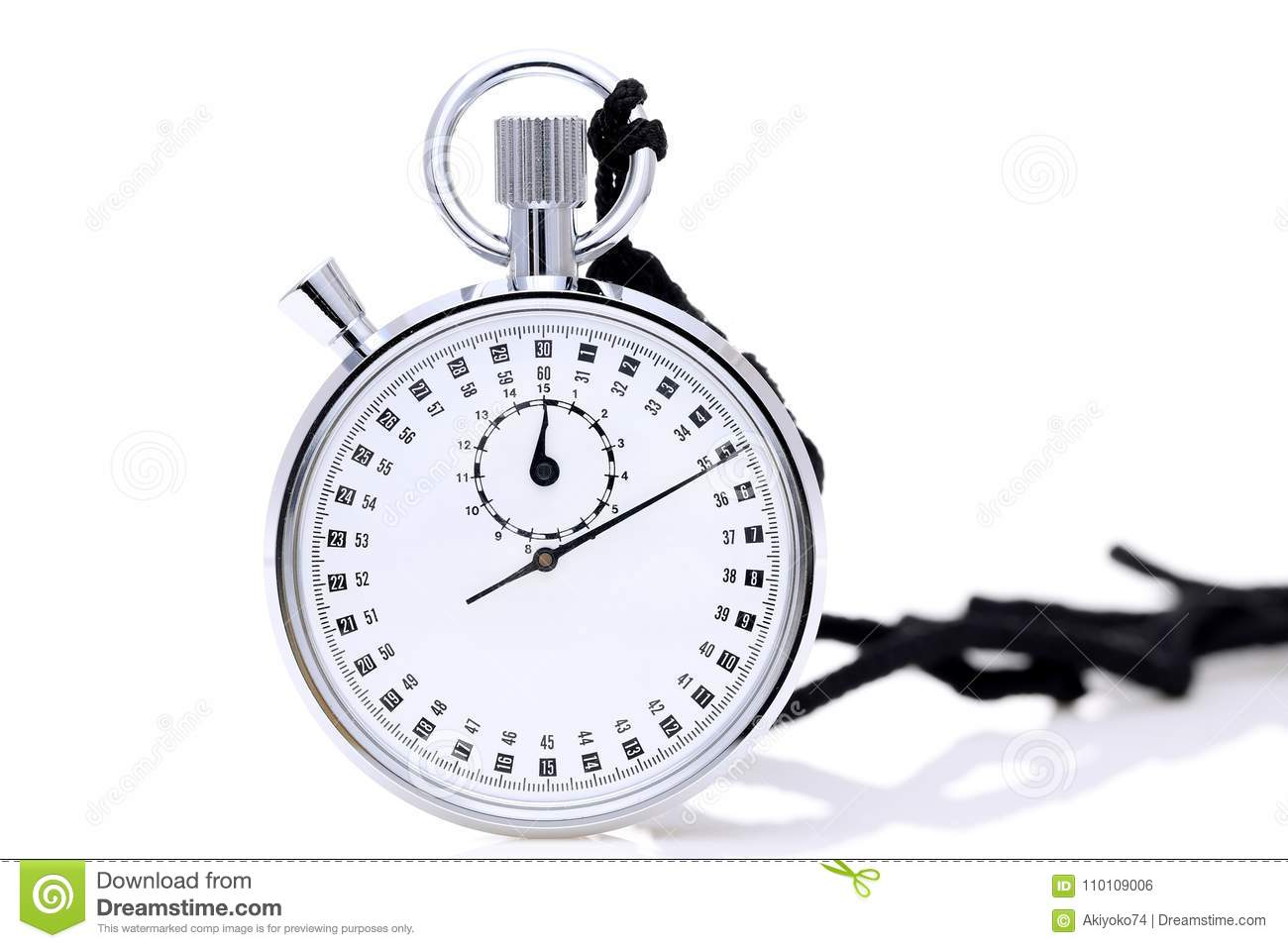 analogue metal stopwatch stock photo image of minute 110109006