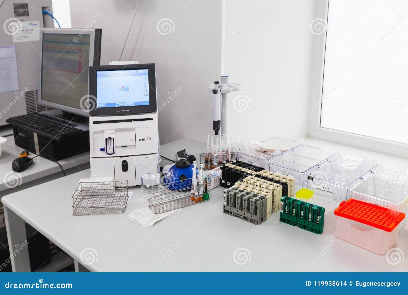 Analysator av syra-grund och gassammansättning