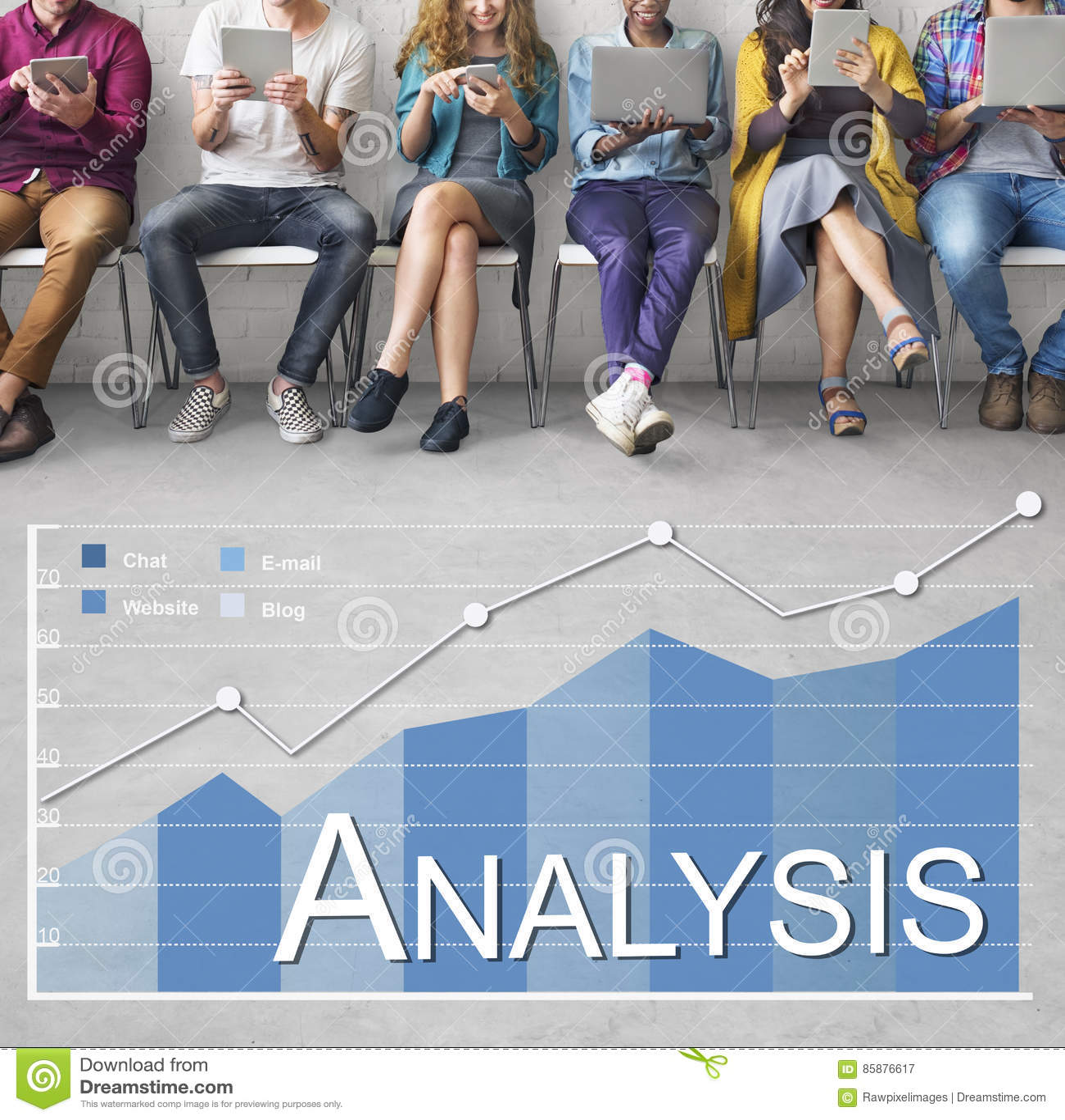 Analyse-Analytik-Wirtschaftsstatistik-Konzept