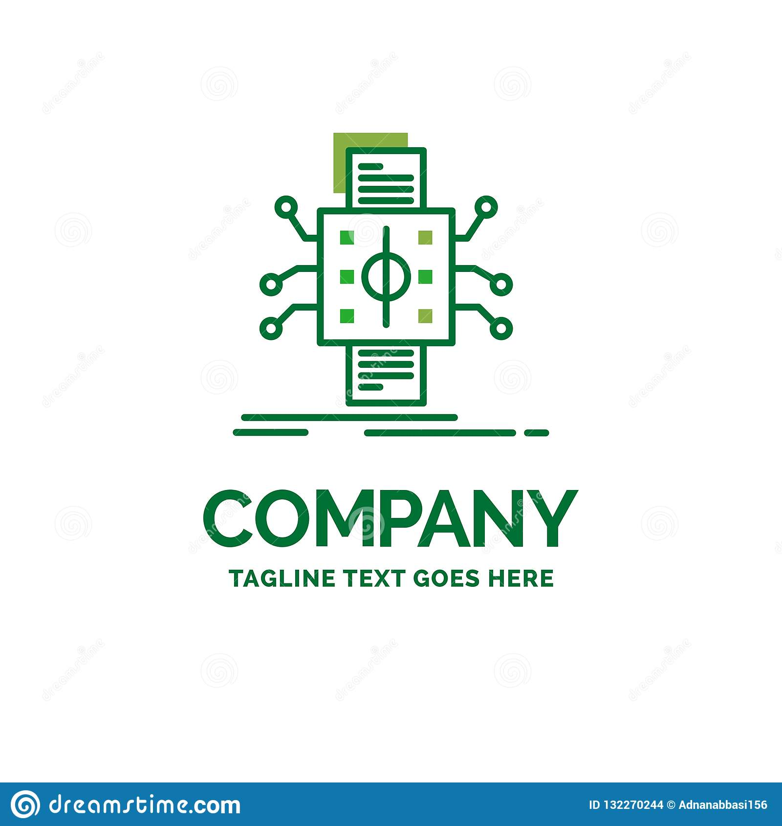 Analyse, gegevens die, gegeven, verwerking, Vlak Bedrijfsembleem melden