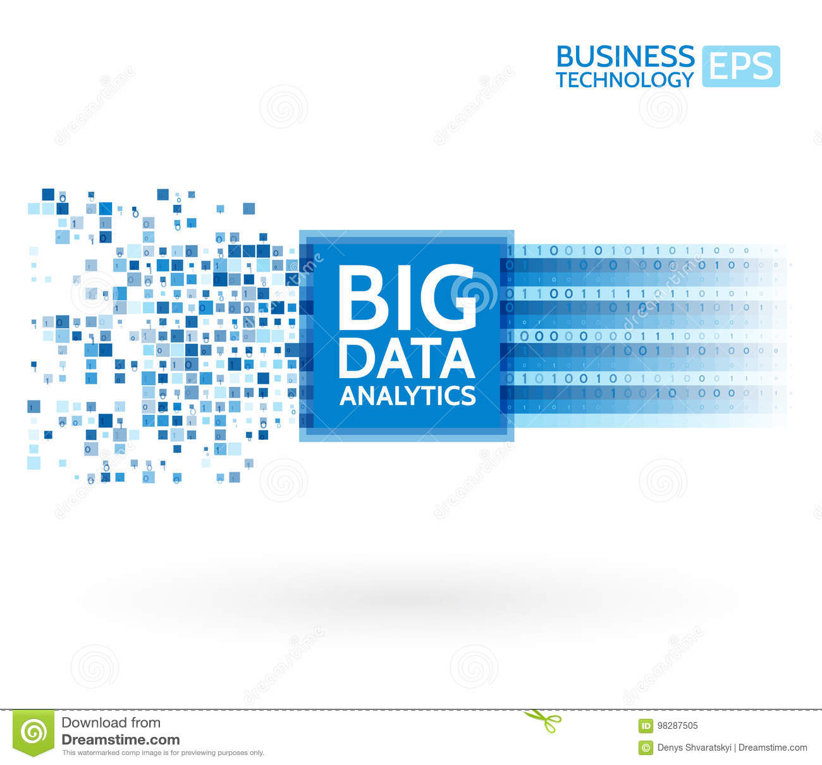 Analyse van informatie Visualisatie voor het exploiteren van gegevens Abstracte digitale sorterende informatie Binaire codealgori