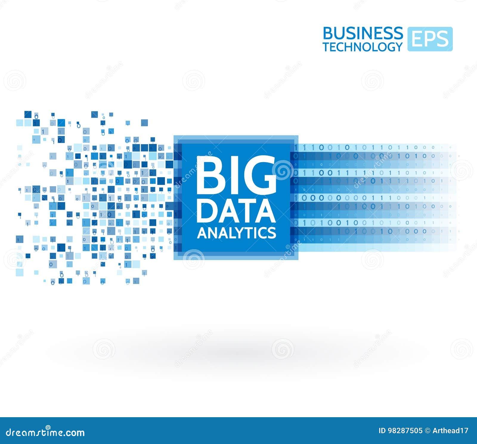 Analyse von Informationen Data - Mining-Sichtbarmachung Abstrakte digitale sortierende Informationen Binär Code-Algorithmen