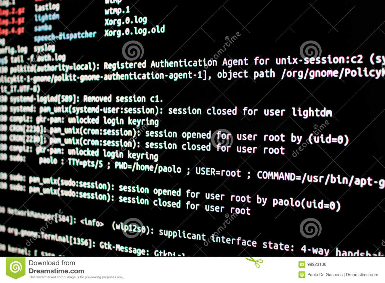 Linux Server Check  Analysis Of Authentication Log Files In