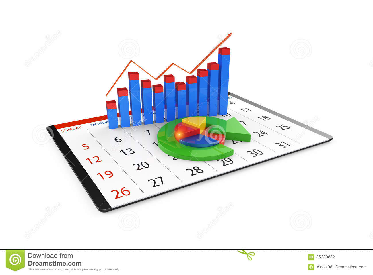Analysis Of Financial Data In Charts Modern Graphical Overview – Financial Data Analysis