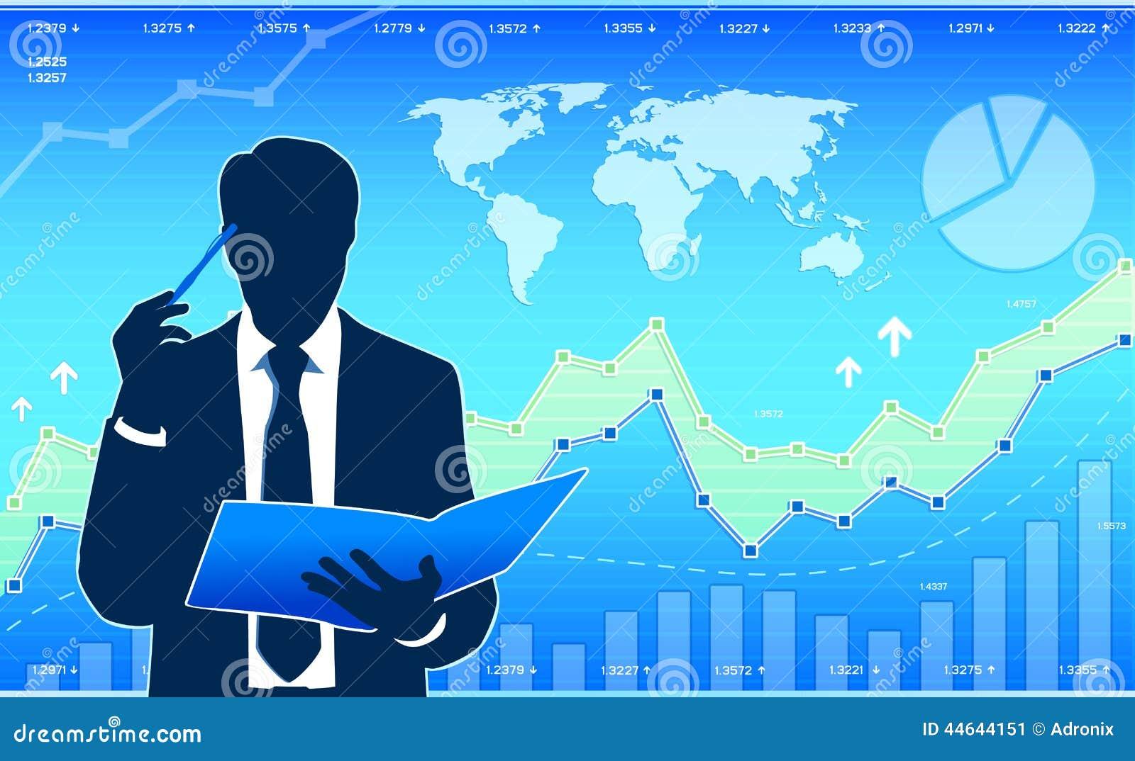 analyste d u0026 39 affaires illustration de vecteur  illustration du proc u00e8s
