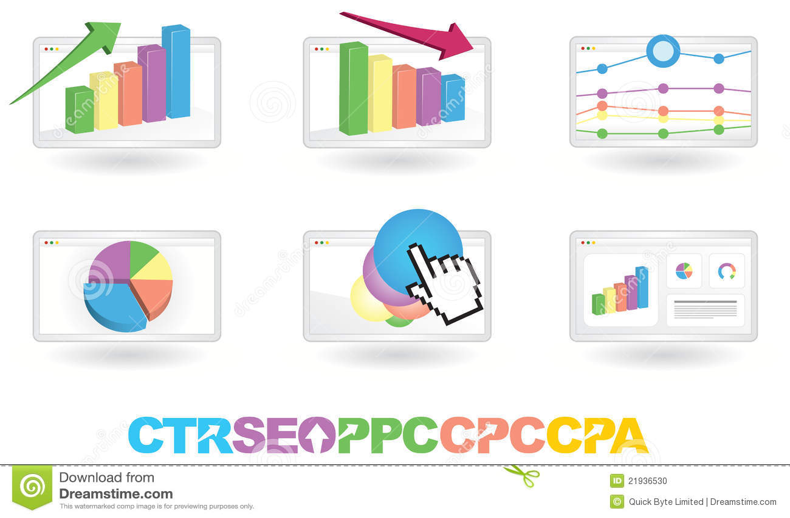 Analytics注标营销seo向量