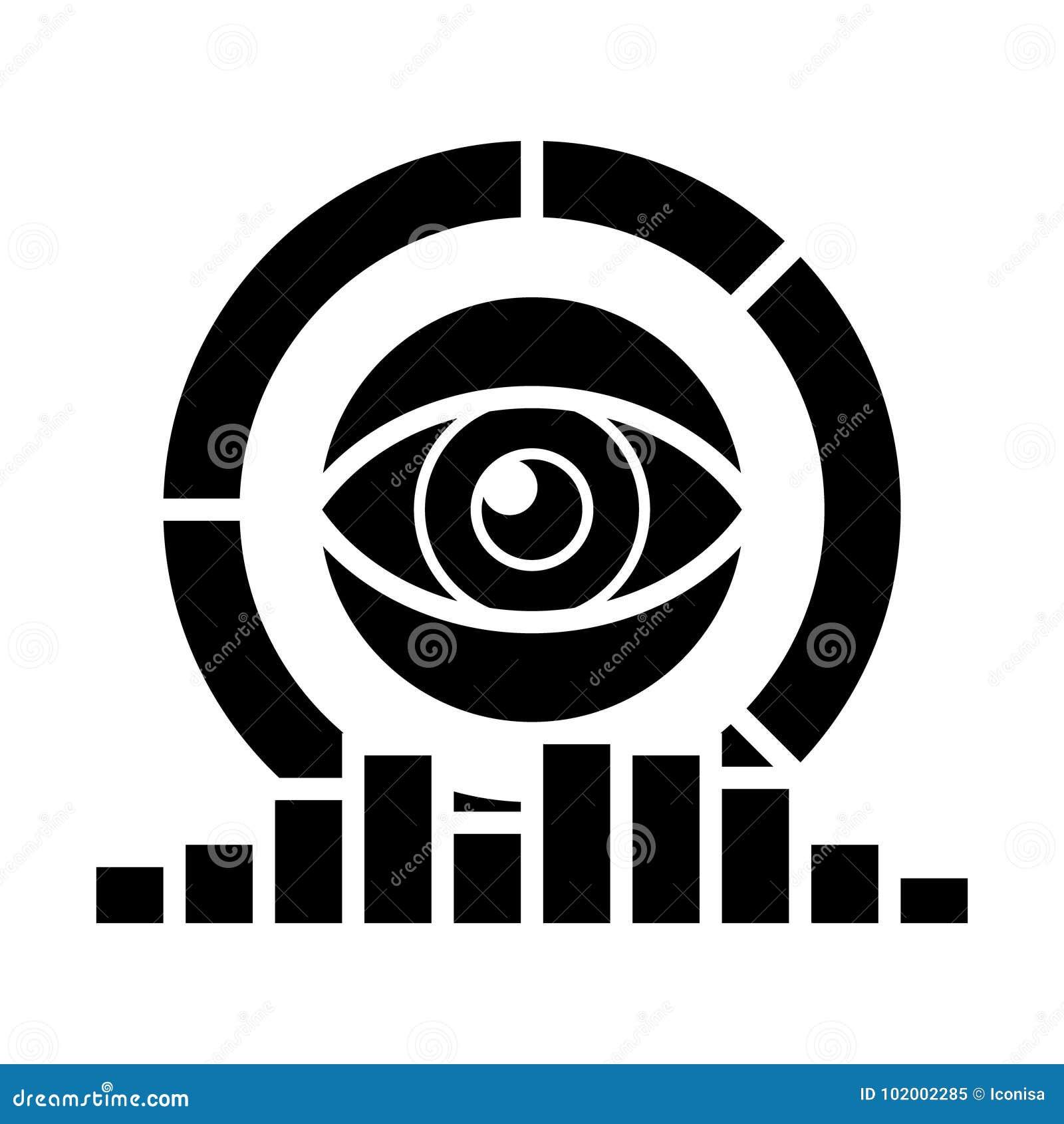 Analytics - Estudio De Mercados, Diagramas, Icono Del Ojo, Ejemplo ...