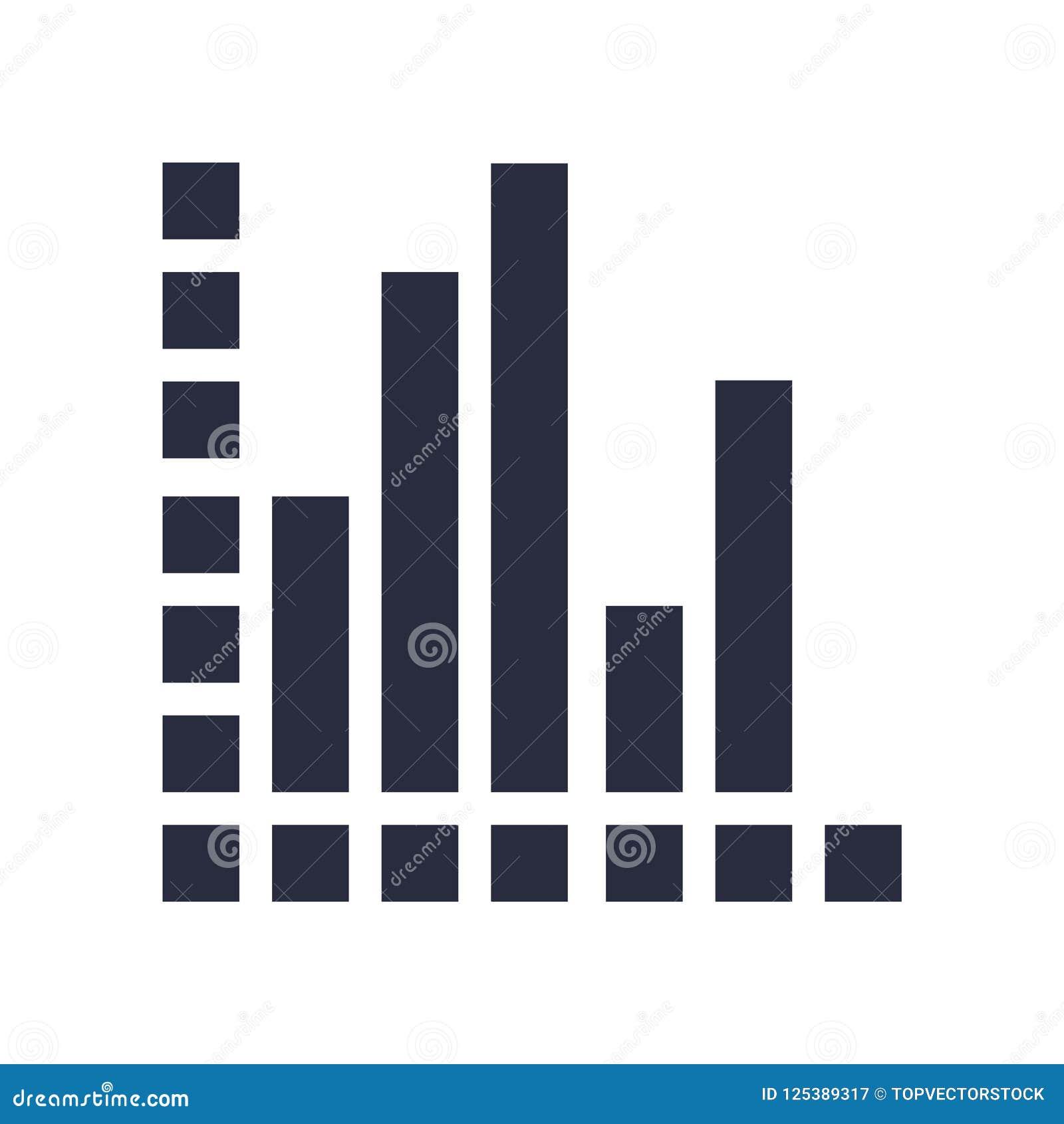 Analytikikonenvektorzeichen und -symbol lokalisiert auf weißem backgrou