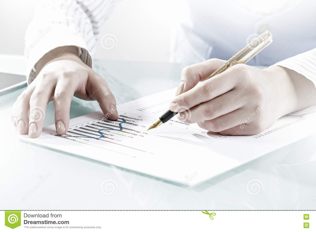 Writing a stock market report