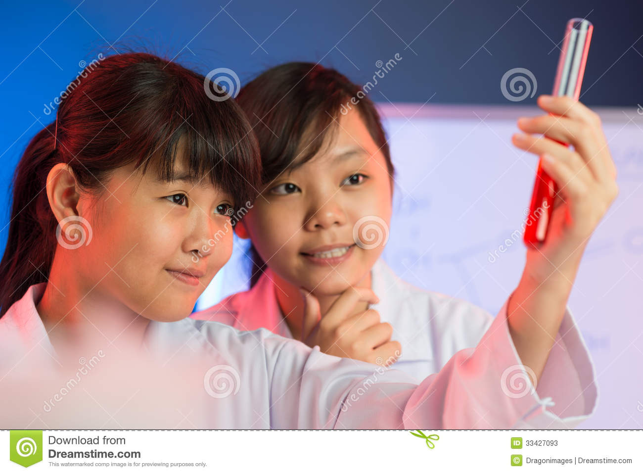 Analyzing The Results Stock Photos - Image: 33427093