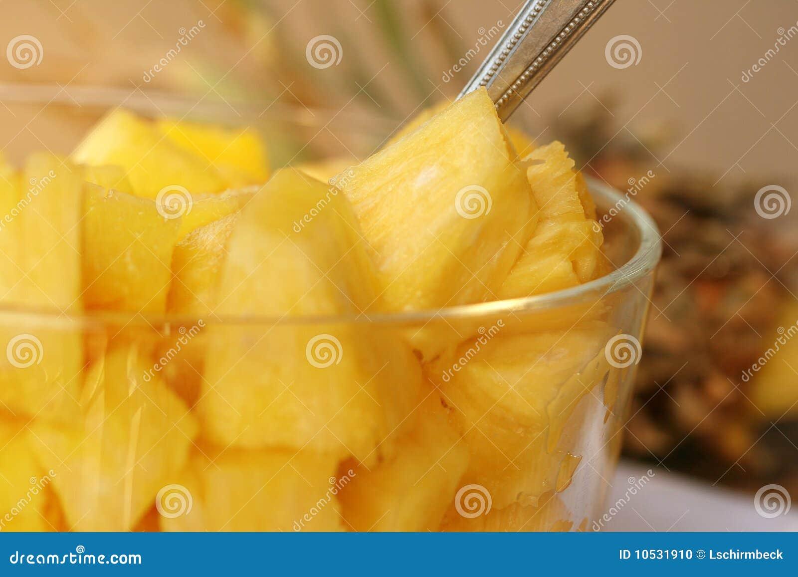 Ananas frais d accumulations