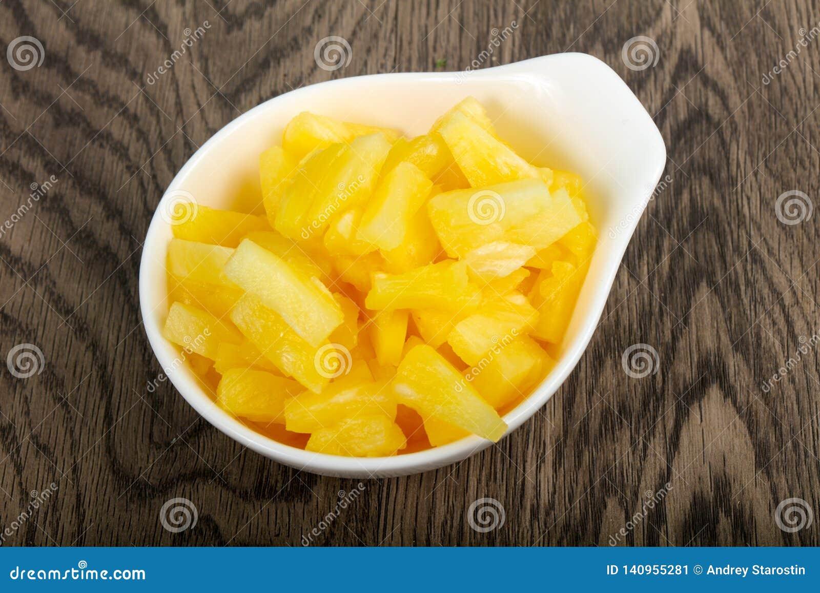 Ananas på burk
