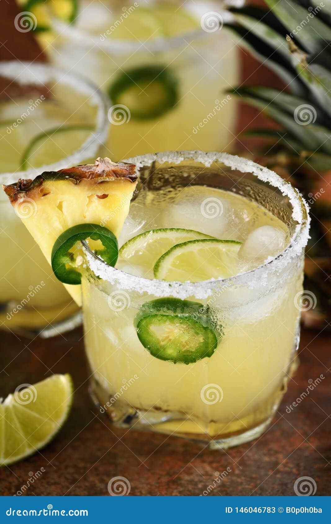 Ananasowy Margarita z Jalapeno