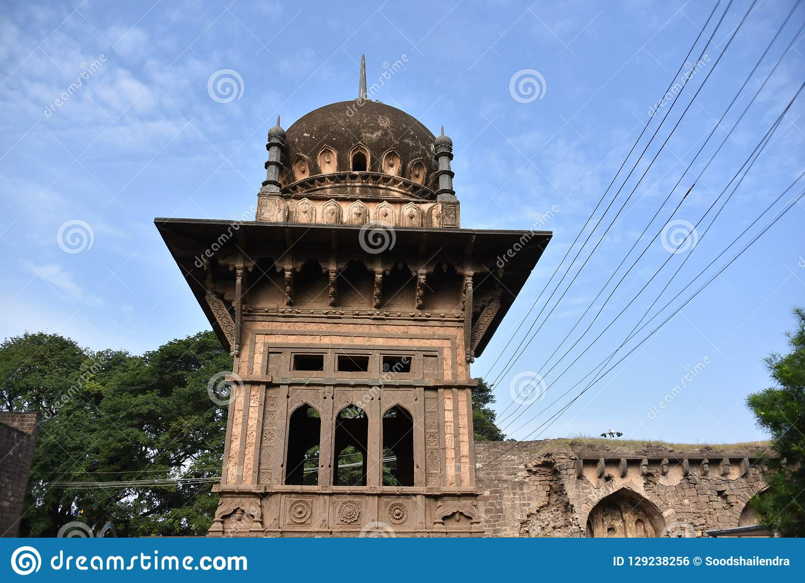 Anand Mahal Palace, Bijapur, Karnataka, Inde