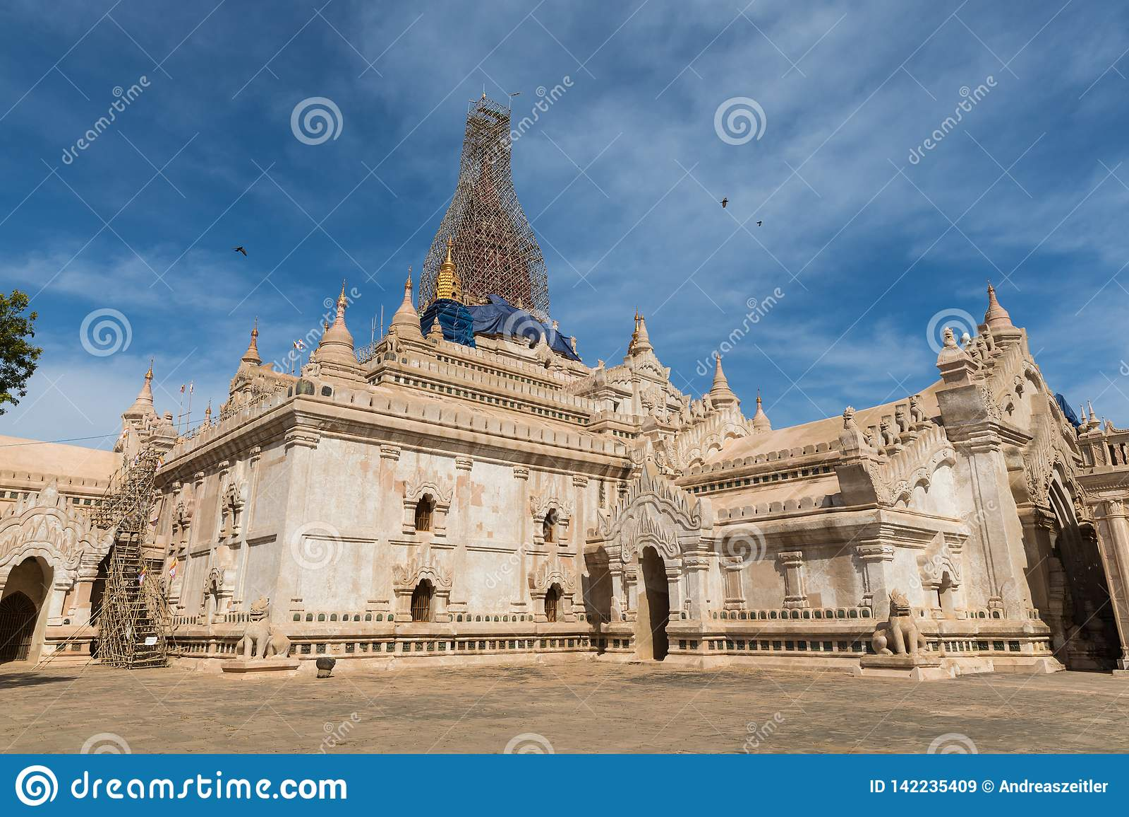 Ananda Pagoda Bagan antico (pagano), Mandalay, Myanmar (Birmania