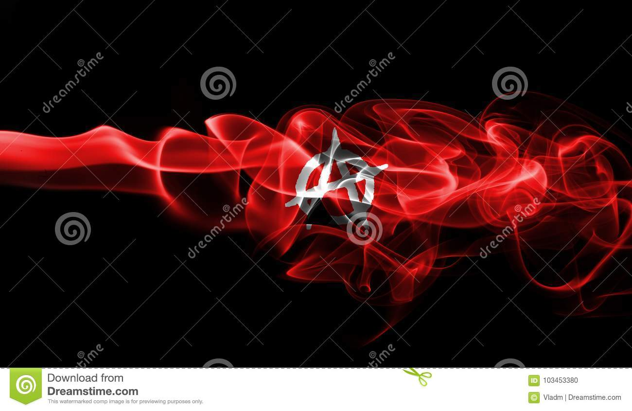 Anarchy Nation Pictures anarchy smoke flag stock photo. image of idea, nation