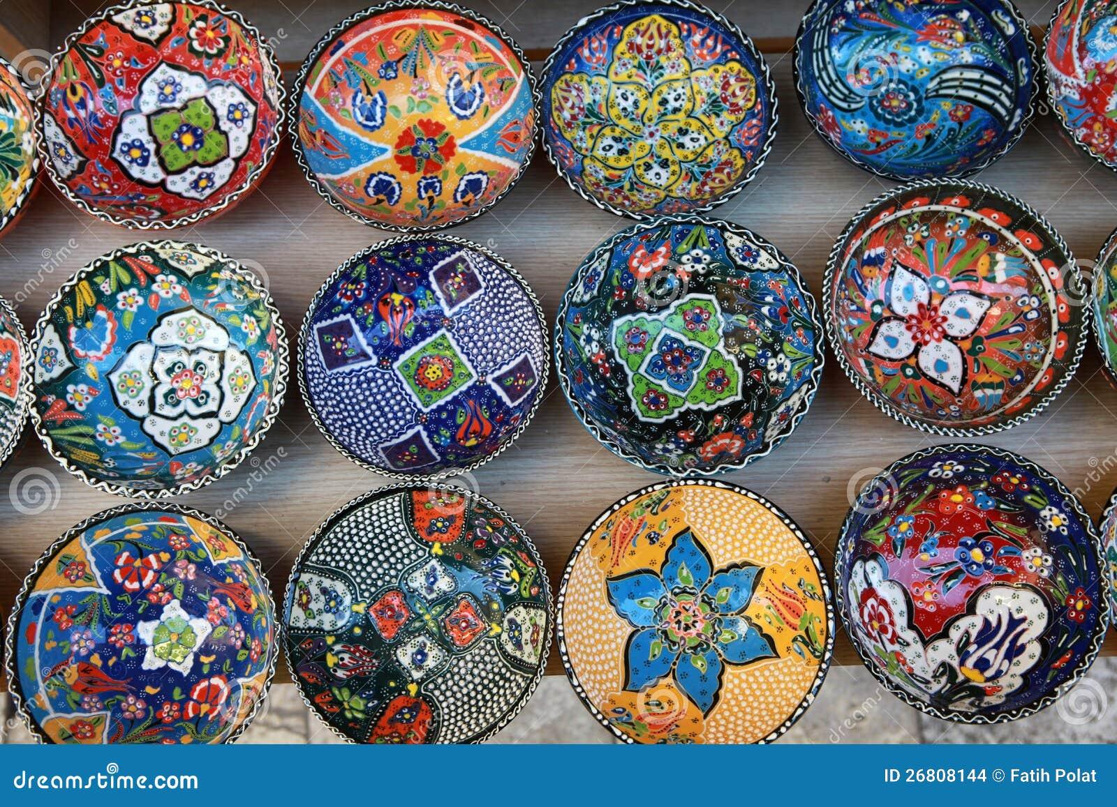 Decorative Dish Anatolian Decorative Dish Stock Photoimage Of Ceramic  26808144