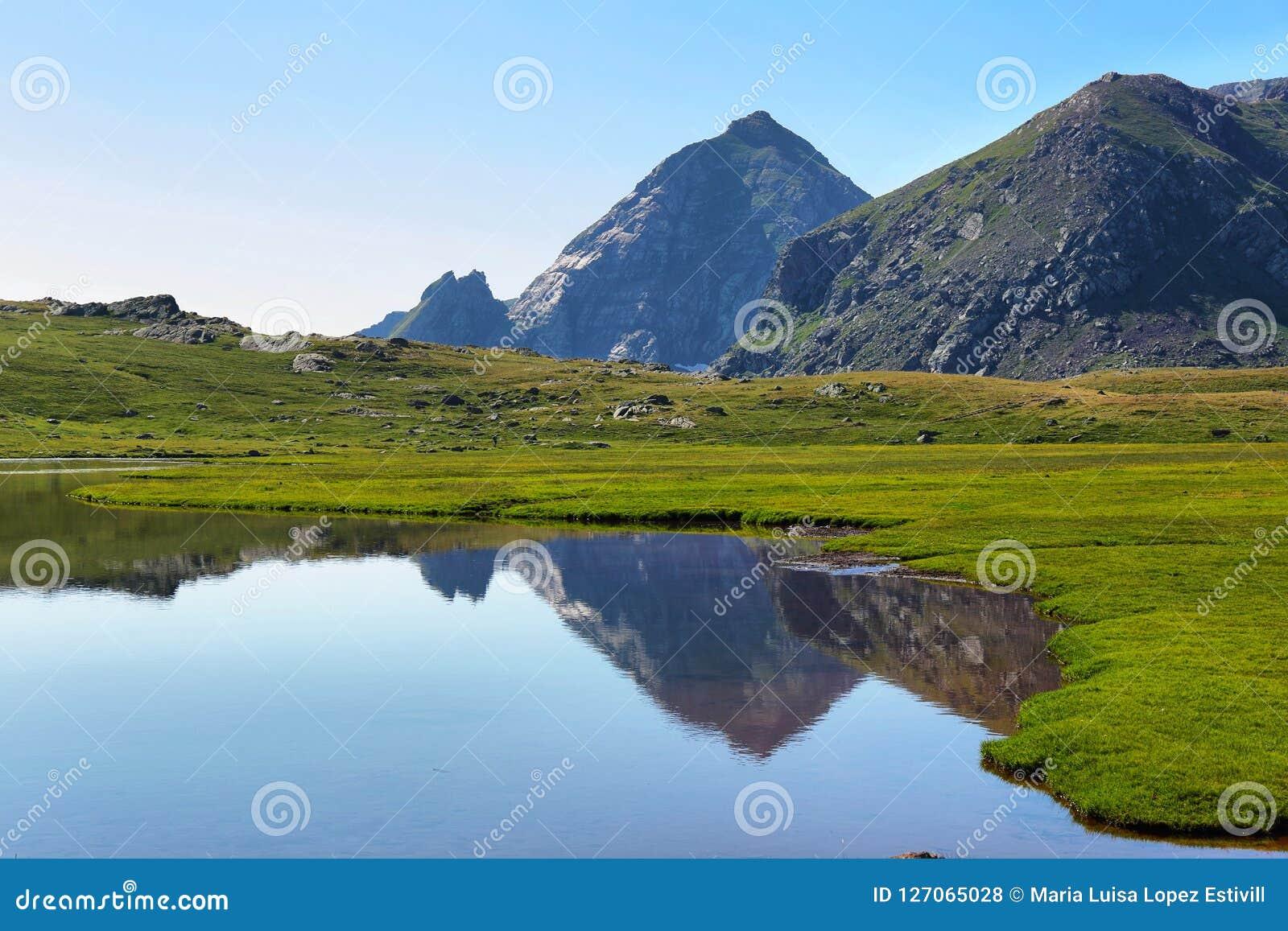 Anayet See, Spanisch Pyrenäen, Aragonien, Spanien