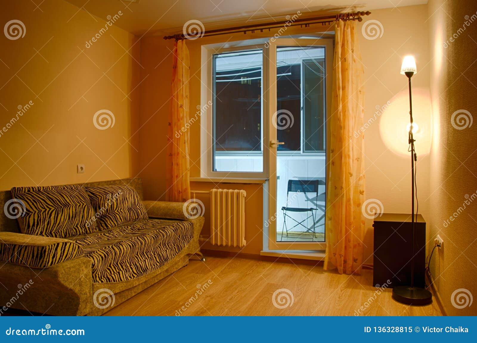 Anche interno di piccola stanza di ospite