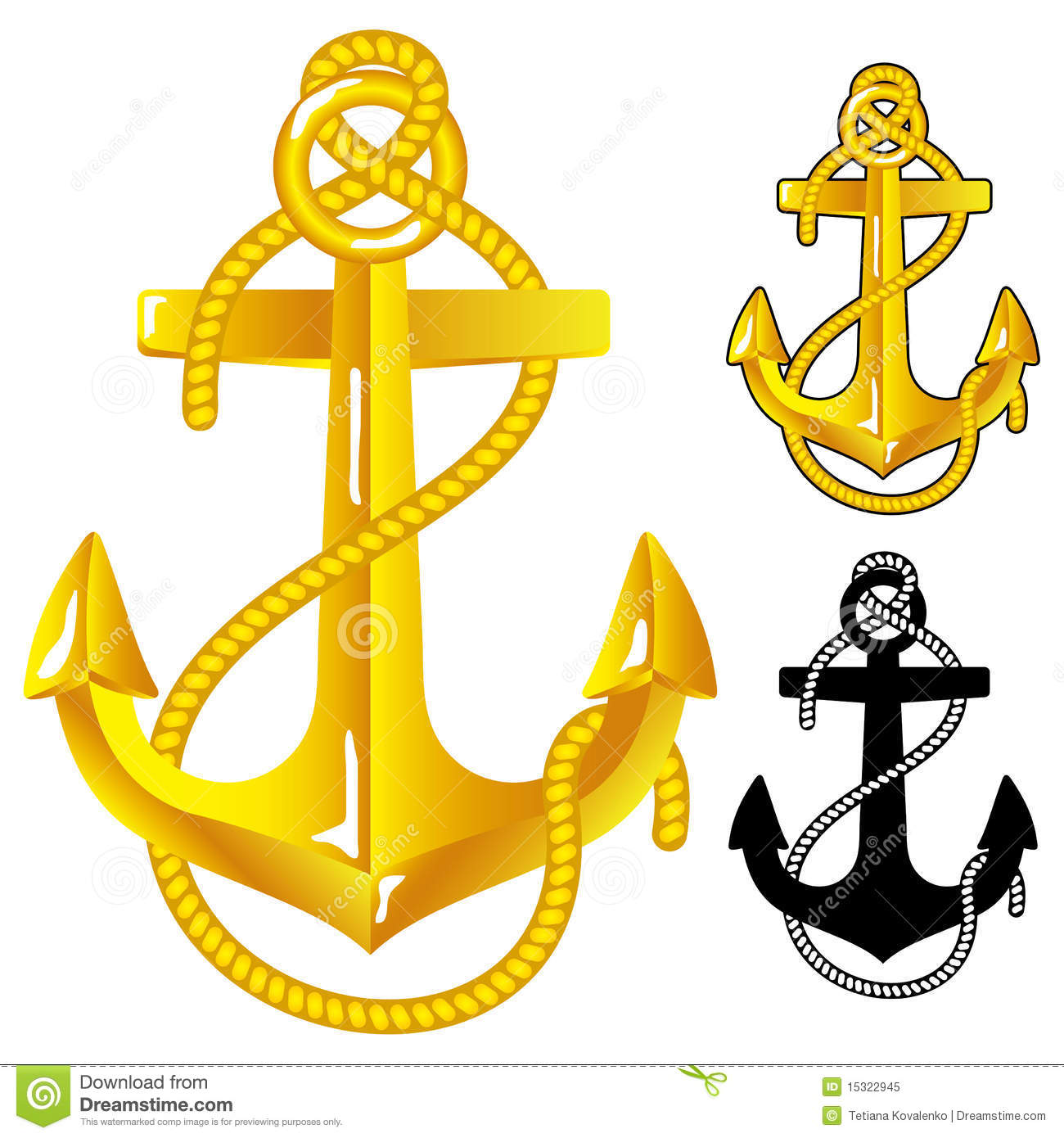 Download Anchor Stock Vector Illustration Of Graphic Symbol