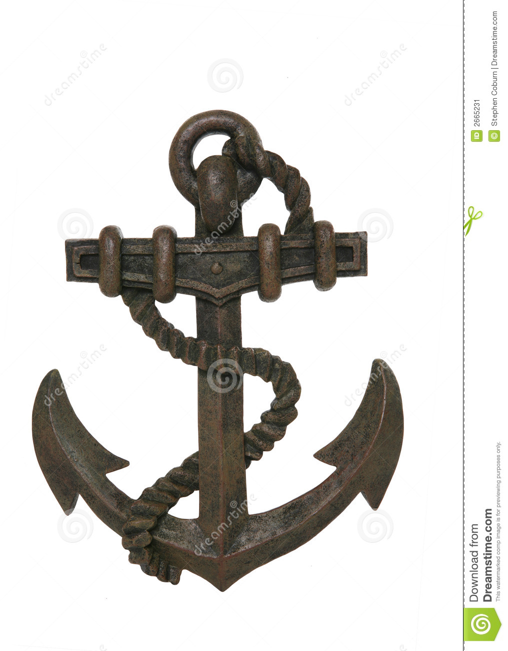 Download Anchor stock image. Image of hook, symbol, strength, graphic - 2665231