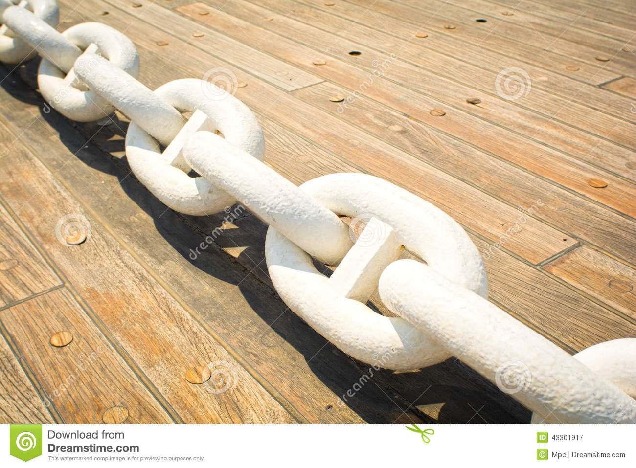 Download Anchor chain stock image. Image of vessels, shippinh - 43301917