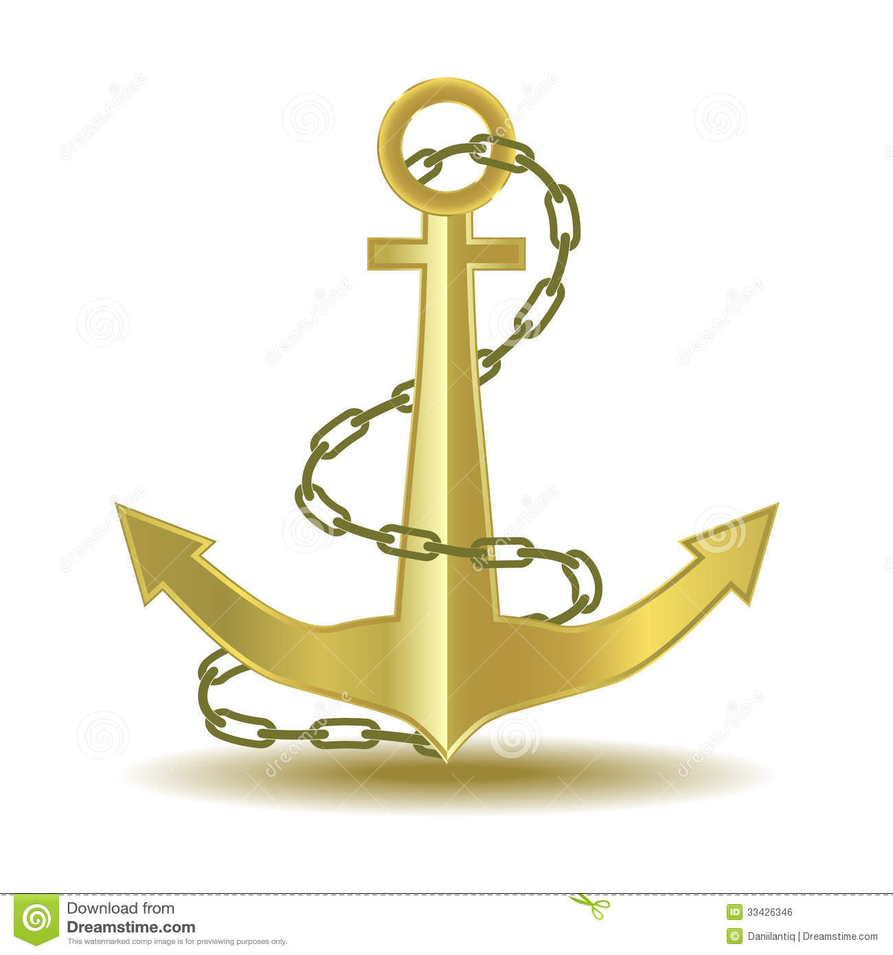 how to add chain to anchor