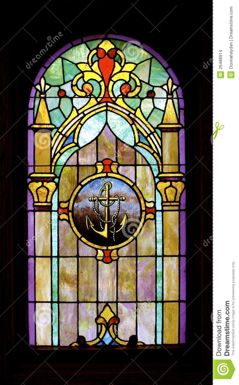 Black Stained Glass Pane Id