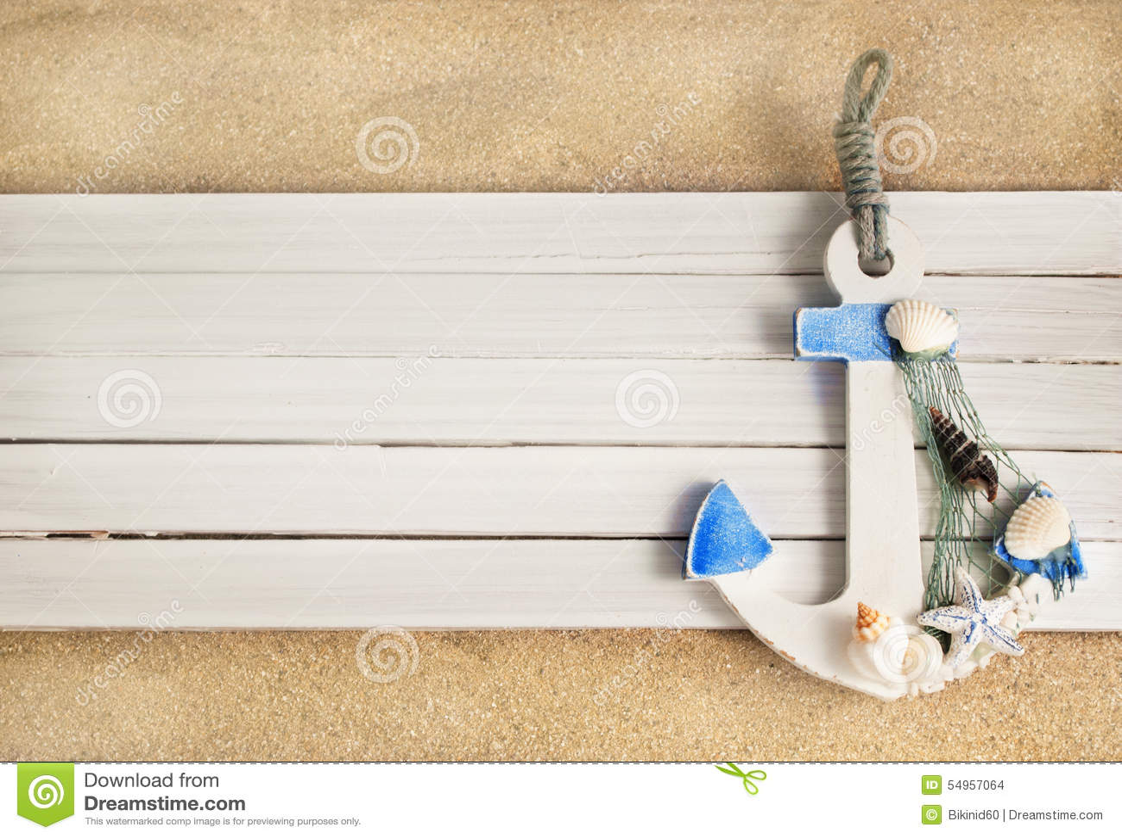 Download Anchor. stock photo. Image of season, background, white - 54957064