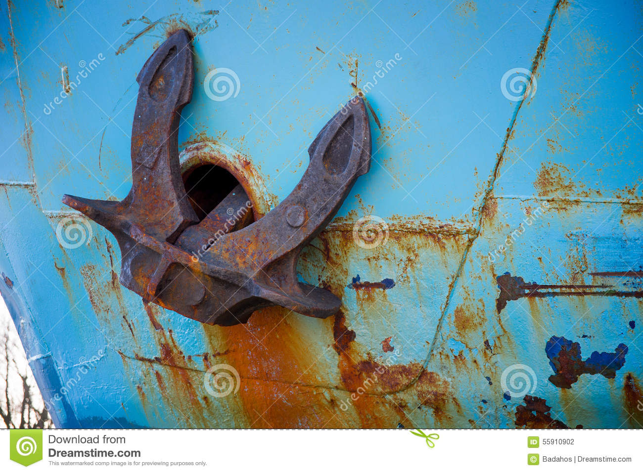 Download Anchor stock photo. Image of space, backgrounds, industrial - 55910902