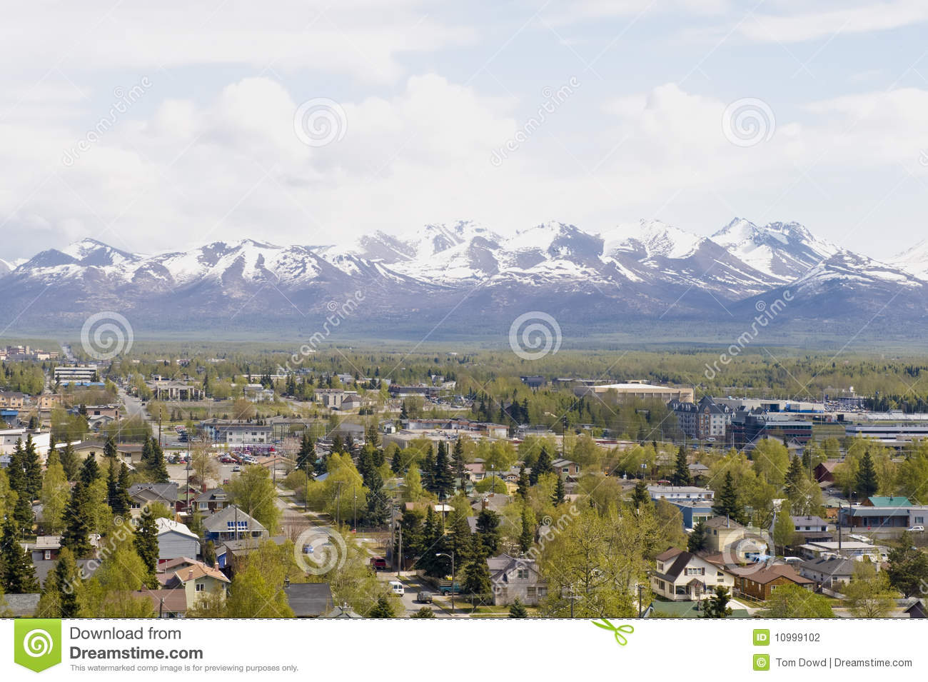 Anchorage suburbs
