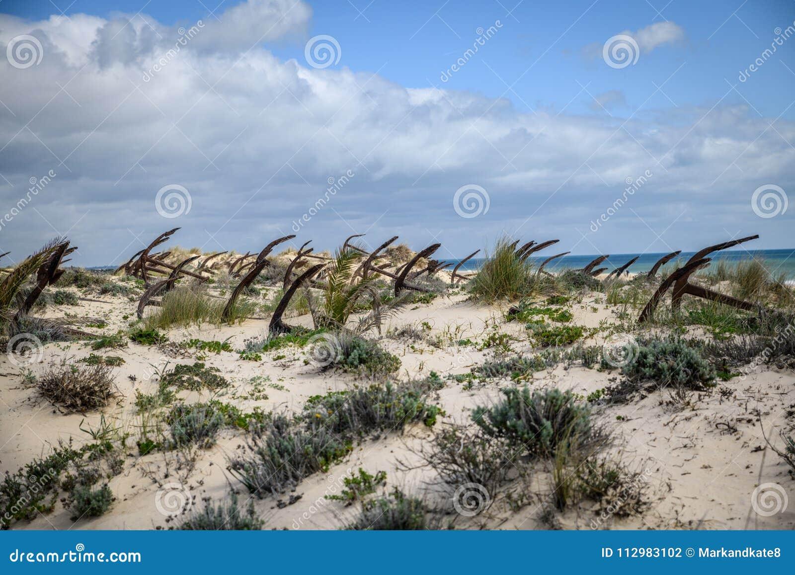 Barril Beach Algarve Portugal