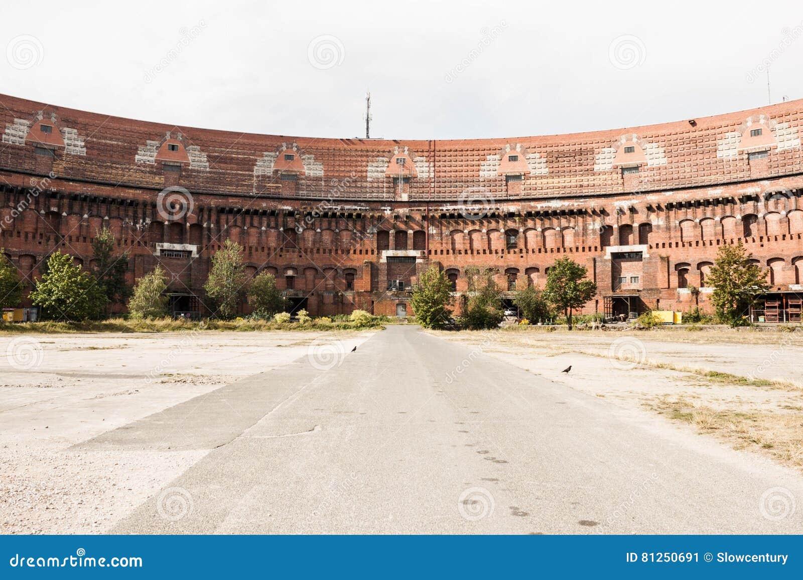 Ancien bâtiment de hall de Nazi Congress à Nuremberg, Allemagne inside