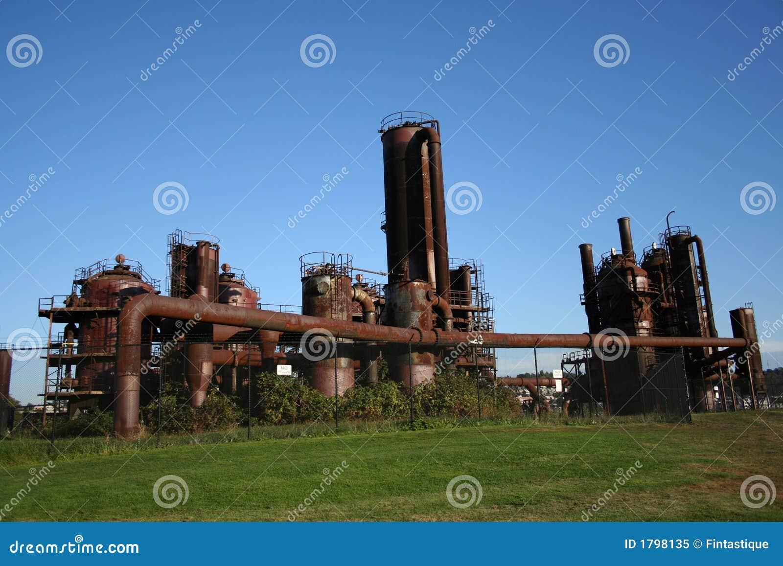 Ancienne usine gaz photo libre de droits image 1798135 - Acheter ancienne usine ...