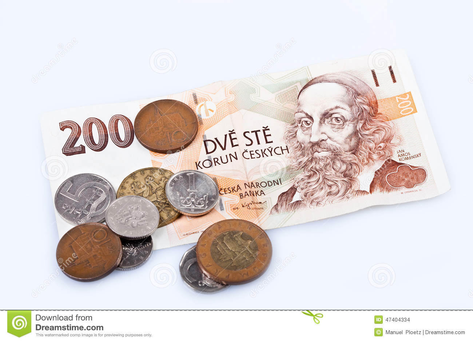 billet de banque tcheque