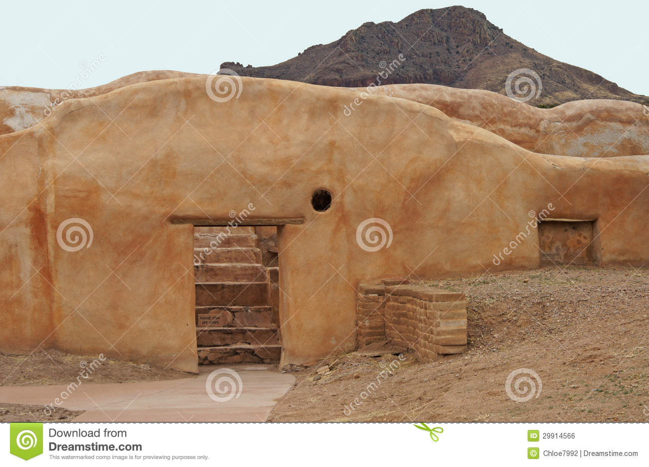 Ancient Adobe Building Royalty Free Stock Image Image 29914566