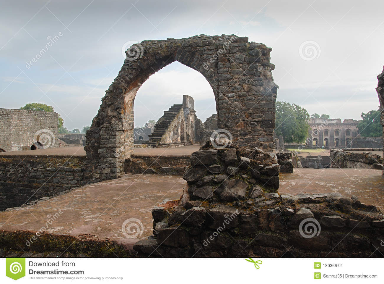 Ancient Architecture Of India Stock Photo - Image of mahal