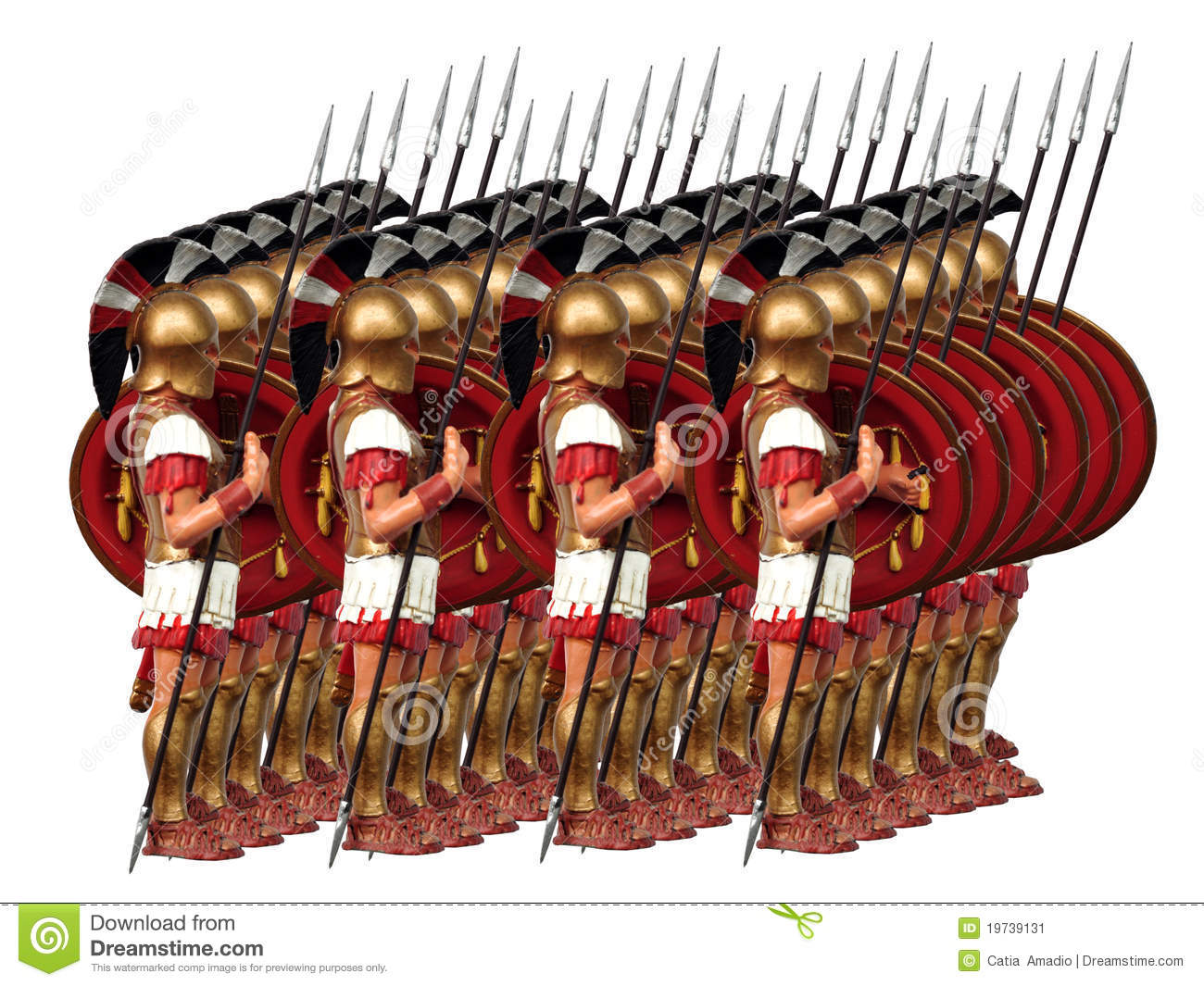 Ancient Army Stock Image Image Of Figures Soldiers