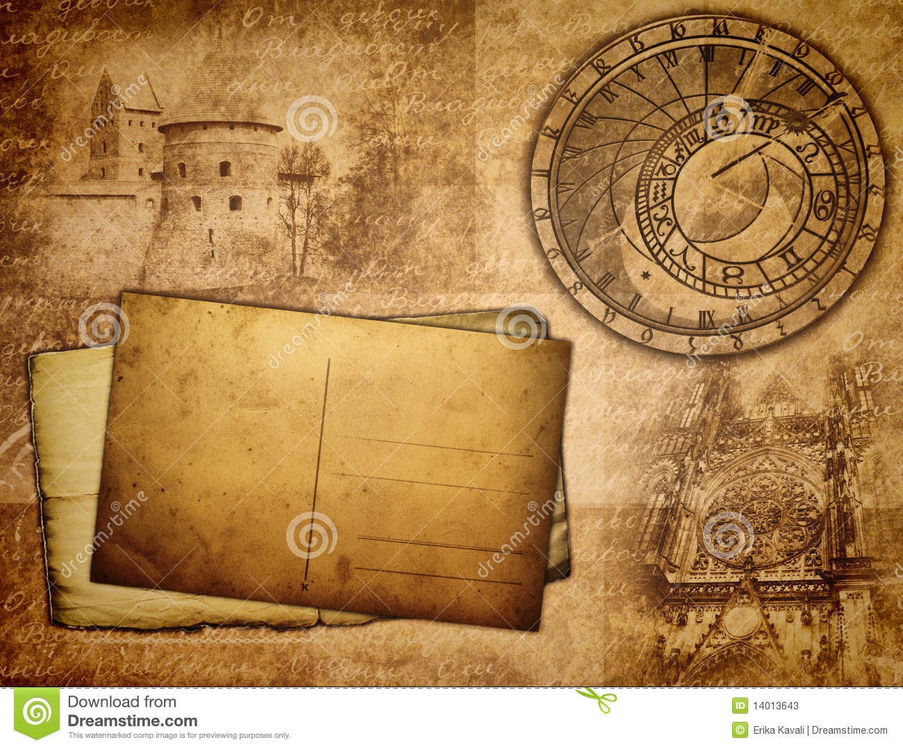 Ancient Background Stock Photos Image 14013643